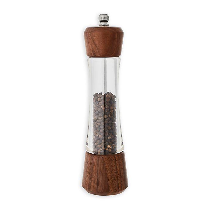 Alternate image 1 for Kamenstein® Nottingham 8-Inch Walnut Wood Pepper Grinder