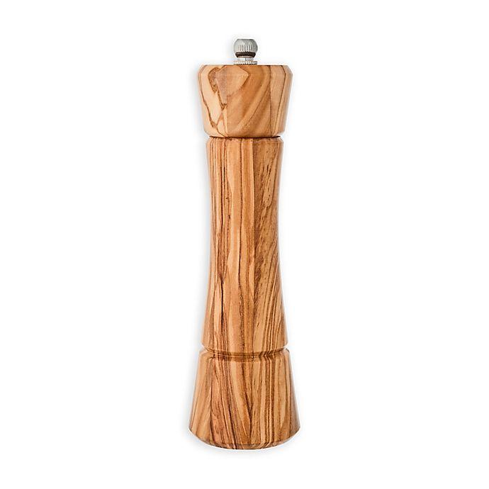 Alternate image 1 for Kamenstein® Nottingham 8-Inch Olive Wood Pepper Grinder