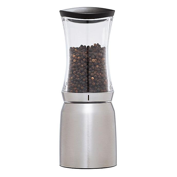 Alternate image 1 for Kamenstein® 8-Inch Stainless Steel Smart Pepper Mill