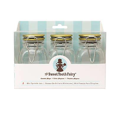 Sweet Tooth Fairy Sprinkle Jars in Gold (Set of 3)