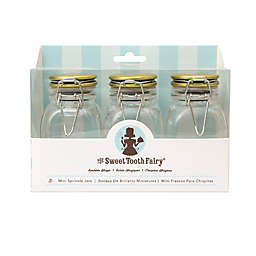 Sweet Tooth Fairy Sprinkle Jars in Gold (Set of 3)