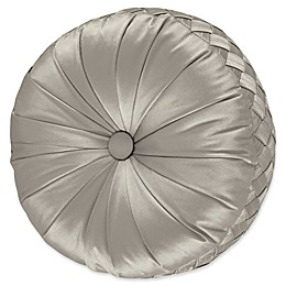 J. Queen New York® Satinique Tufted Round Throw Pillow