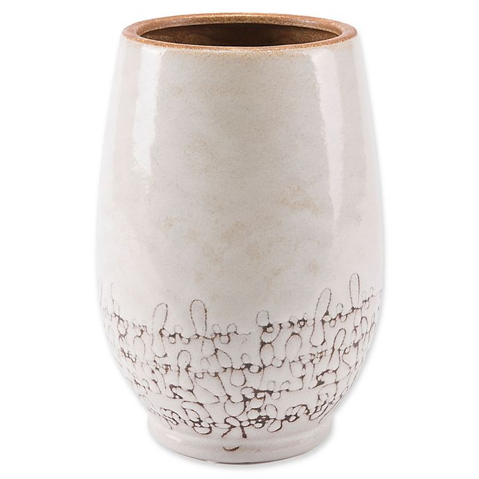 Alternate image 1 for Zuo® Ibera Small Vase in White