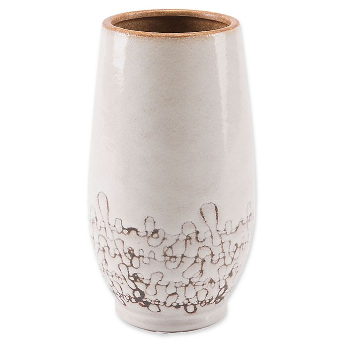 Alternate image 1 for Zuo® Ibera Large Vase in White