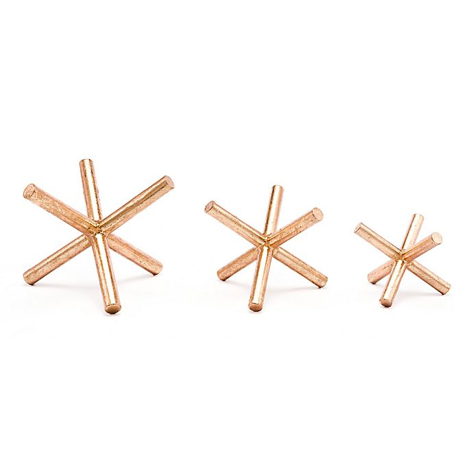 Alternate image 1 for Zuo® Asterix Copper Figurines (Set of 3)