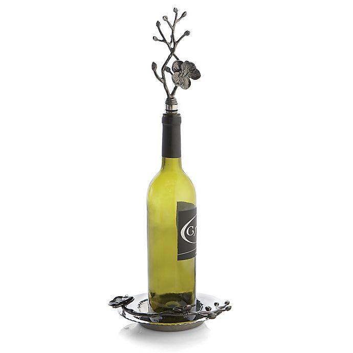 Alternate image 1 for Michael Aram Black Orchid Wine Stopper