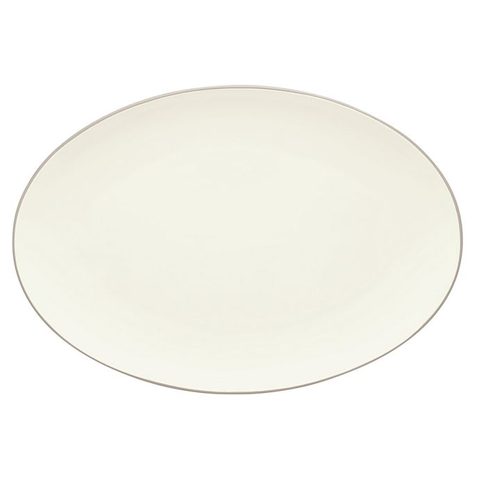 Alternate image 1 for Noritake® Colorwave 16-Inch Oval Platter in Sand