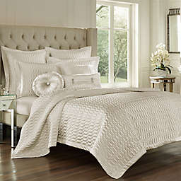 J. Queen New York® Satinique King Quilt  in Natural