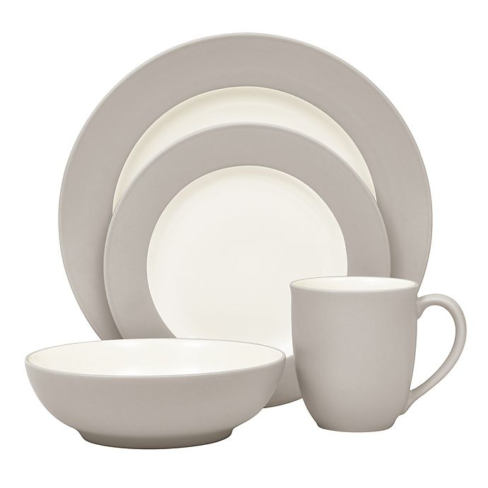 Alternate image 1 for Noritake® Colorwave Rim Dinnerware Collection in Sand