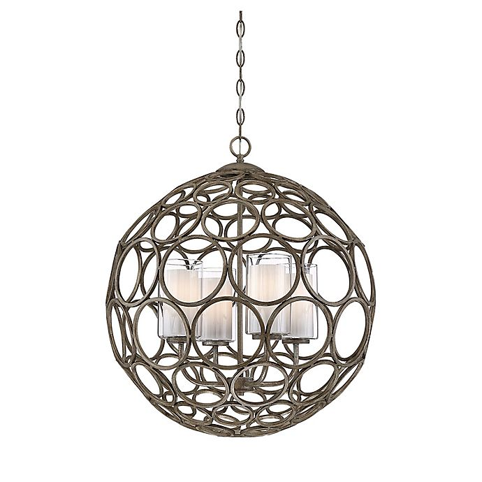 Alternate image 1 for Filament Design Chateau 4-Light Pendant