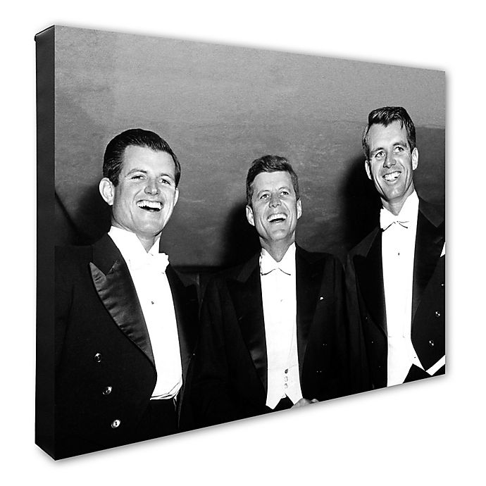 Alternate image 1 for Photo File Kennedy Brothers 16-Inch x 20-Inch Canvas Photo Wall Art