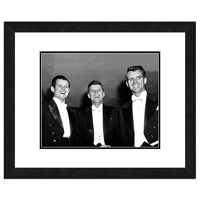 Alternate image 1 for Photo File Kennedy Brothers 18-Inch x 22-Inch Framed Photo Wall Art