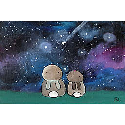 Marmont Hill Starry Sky Bunnies Canvas Wall Art