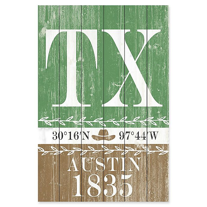 Alternate image 1 for Marmont Hill Austin 1835 Wood Wall Art