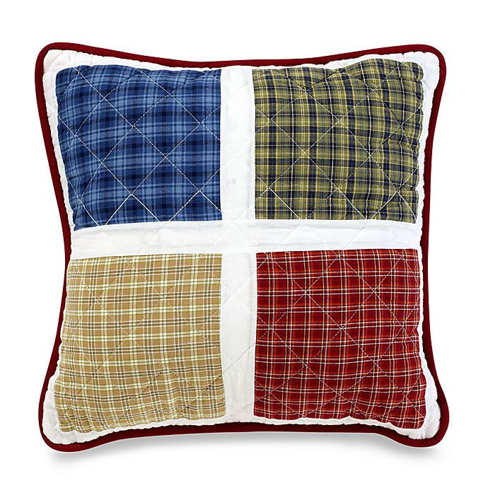 Alternate image 1 for Ball Game 16-Inch Square Throw Pillow