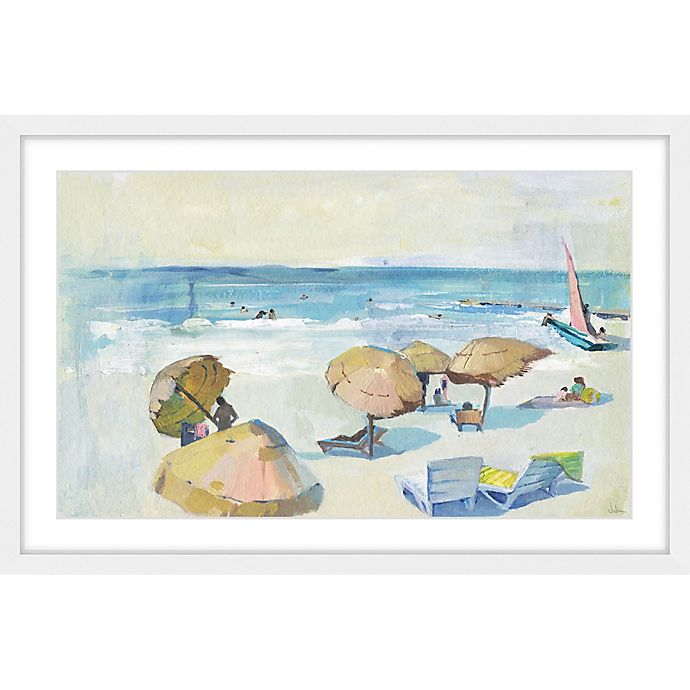 Alternate image 1 for Marmont Hill Summer Day 24-Inch x 16-Inch Framed Wall Art