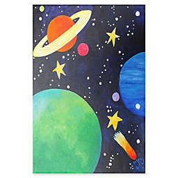 Marmont Hill Planet Colors Canvas Wall Art