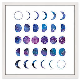 Marmont Hill Moon Phases 2 Framed Wall Art
