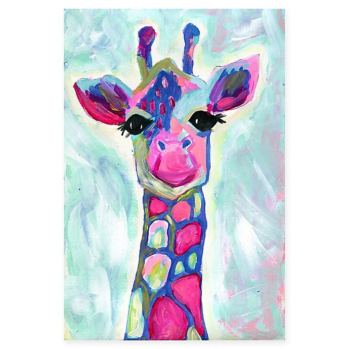 Giraffe Canvas Wall Art View A Larger Version Of This Product Image