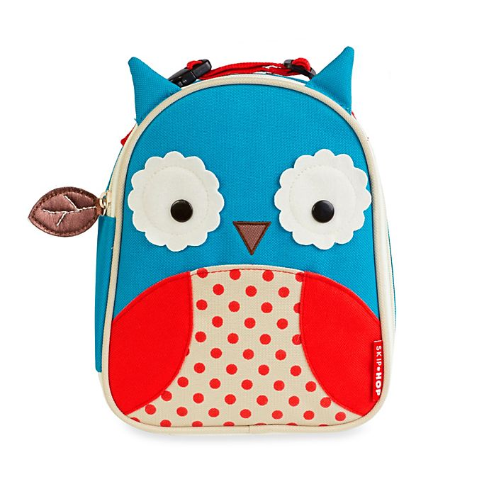 Alternate image 1 for SKIP*HOP® Zoo Lunchies Insulated Lunch Bag in Owl