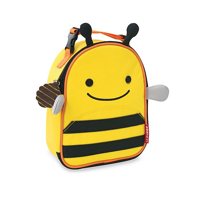 Alternate image 1 for SKIP*HOP® Zoo Lunchies Insulated Lunch Bag in Bee