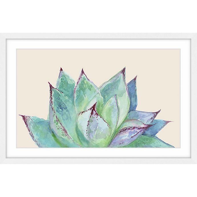 Alternate image 1 for Marmont Hill Agave Profile II 16-Inch x 24-Inch Framed Wall Art