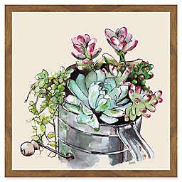 Marmont Hill Succulents II Framed Wall Art