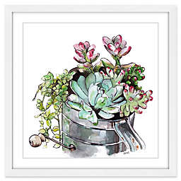 Marmont Hill Succulents Framed Wall Art