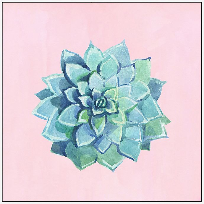 Alternate image 1 for Marmont Hill Echeveria Imbricata III 48-Inch Square Framed Wall Art