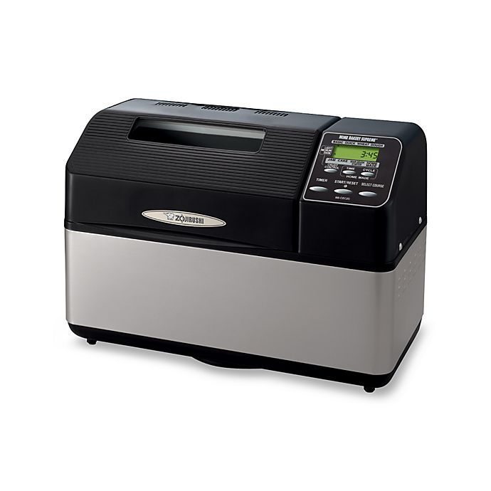 Alternate image 1 for Zojirushi Black Home Bakery Supreme Bread Maker