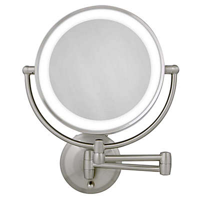 Wall Mounted Lighted Makeup Mirror Bed Bath Beyond