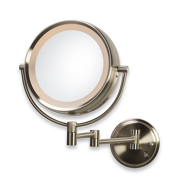 Alternate image 1 for Conair® Hotel Collection 1x/8x Incandescent Wall Mirror