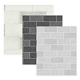 Ceramic Subway Tile Wallpaper
