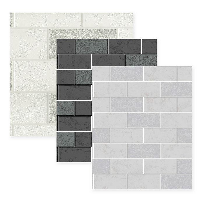 Ceramic Subway Tile Wallpaper Bed Bath And Beyond Canada