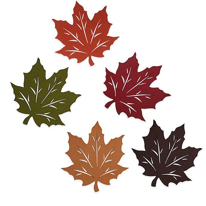 Alternate image 1 for Felt Leaf Placemat