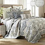 Levtex Home Marcell Reversible Full/Queen Quilt Set in Blue/Tan
