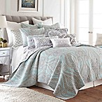 Levtex Home Sherie Reversible Full/Queen Quilt Set in Blue/Red