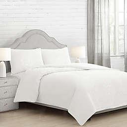 Eira Full/Queen Comforter Set in White