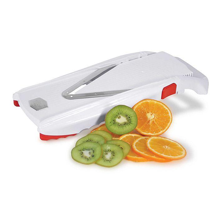 Alternate image 1 for Swissmar® Borner V-Power™ Mandoline Slicer in White