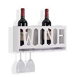 "Danya B. ""Wine"" Bottle and Wine Glass Rack"
