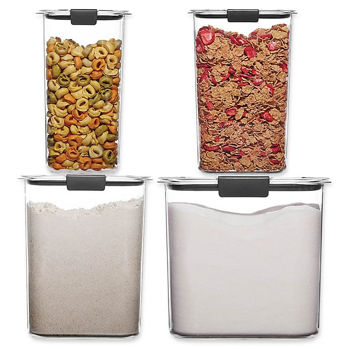Alternate image 1 for Rubbermaid® Brilliance Dry Food Storage Collection