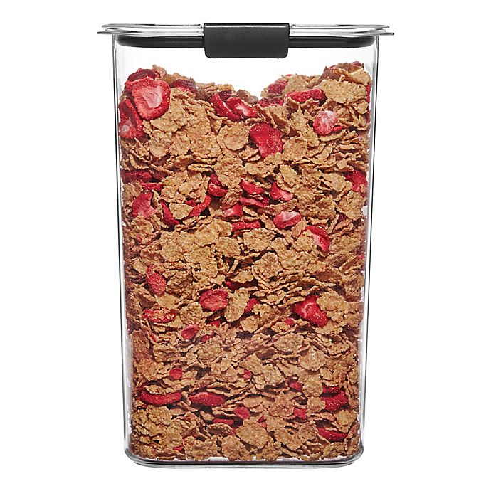 Alternate image 1 for Rubbermaid Brilliance 19.9-Cup Cereal Dry Storage Container
