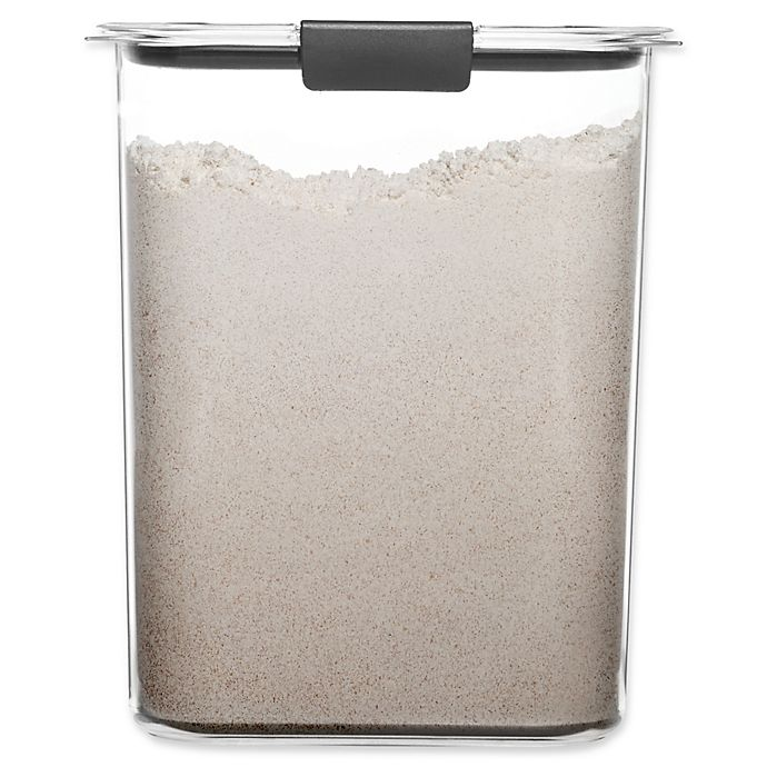 Alternate image 1 for Rubbermaid Brilliance 16-Cup Flour Dry Storage Container