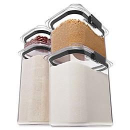 Rubbermaid 4-Piece Brilliance Dry Storage Set