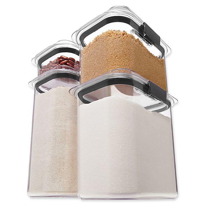 Alternate image 1 for Rubbermaid 4-Piece Brilliance Dry Storage Set