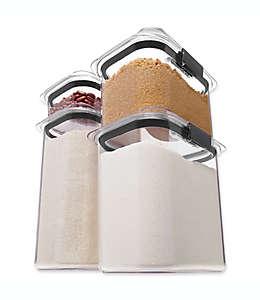 Contenedores de alimentos de tritán secos Rubbermaid® Brilliance™, set de 4