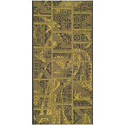 Safavieh Palazzo Global Boxes 2-Foot 6-Inch x 5-Foot Area Rug in Black/Green