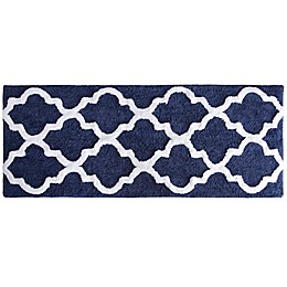 "Nottingham Home 24"" x 60"" Trellis Bath Mat"