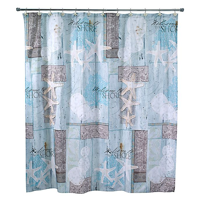 Alternate image 1 for Avanti Beachcomber Shower Curtain