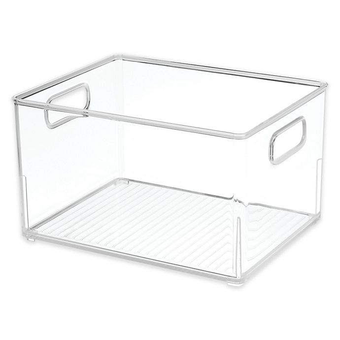 Alternate image 1 for iDesign® Small Bath Bin